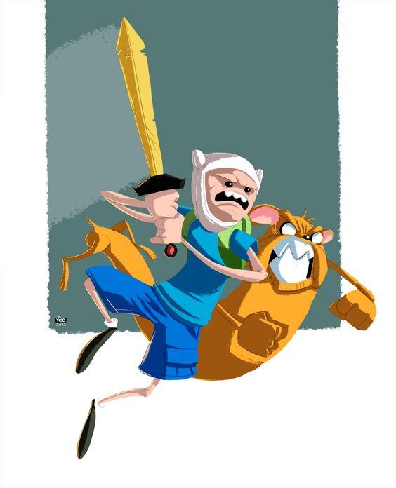 Adventure Time byIdo Yehimovitz