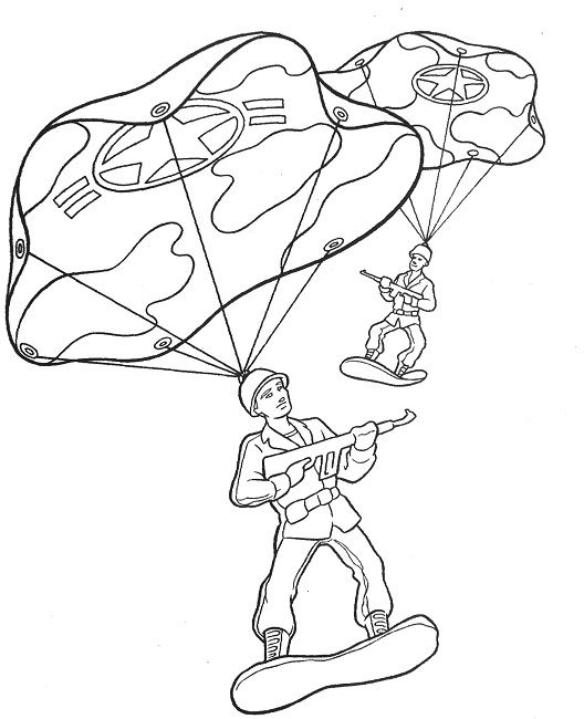 coloring pages of toy soldier - photo#7