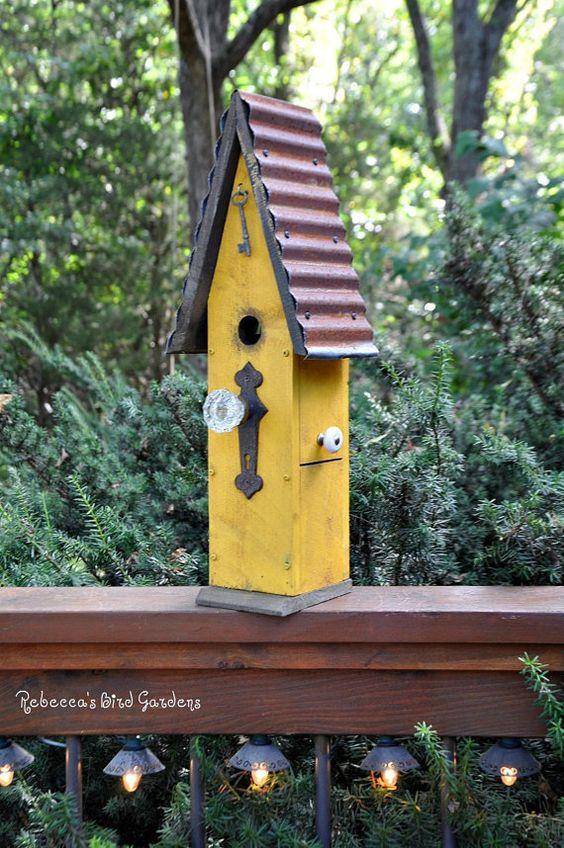 "Rustic Birdhouse ~ ""The Loft"" on Etsy"