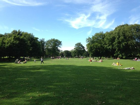 Picture from a park in London during Summer  2013, Part 2.