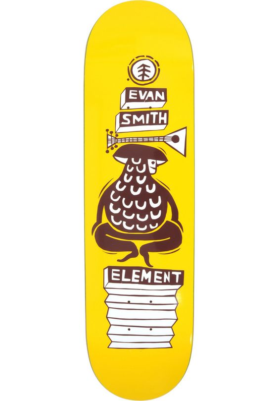 Element Evan-Los-Amigos - titus-shop.com  #Deck #Skateboard #titus #titusskateshop