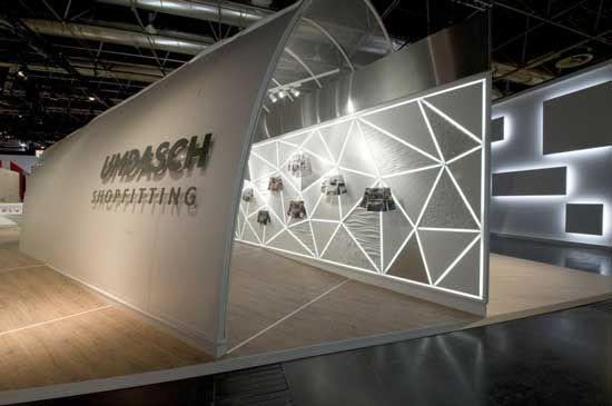 Marketing Exhibition Stand Lighting : Umdasch euroshop love the use of lighting in these