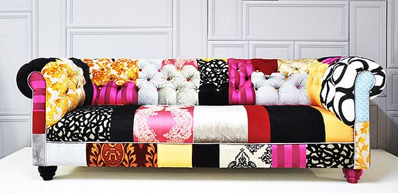 The Fabulous And Funky Patchwork Chesterfield Sofa From Namedesignstudio Colour Me Hy Pinterest Sofas