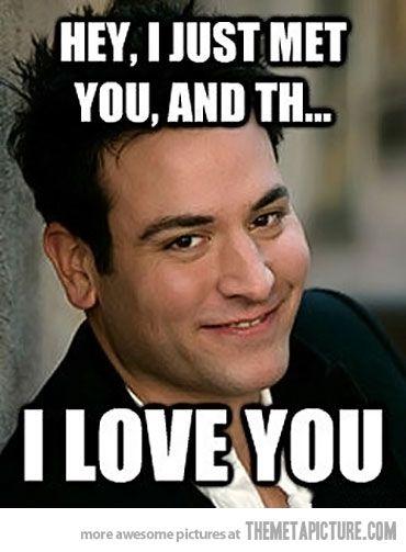 Hahahaha oh Ted