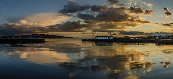 Sunset at Broughty Ferry