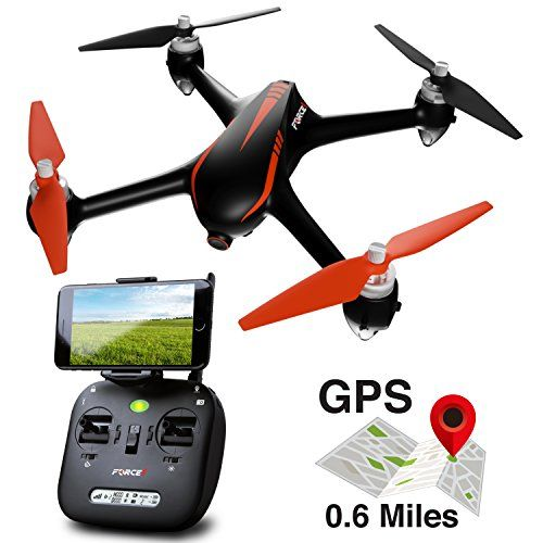 Brushless Gps Drone With 0 6 Miles Range And Auto Returrn To Home 1080p Hd Drone Camera Live Video Fly In Drone Wifi Fp Drone Design Quadcopter Drones Concept