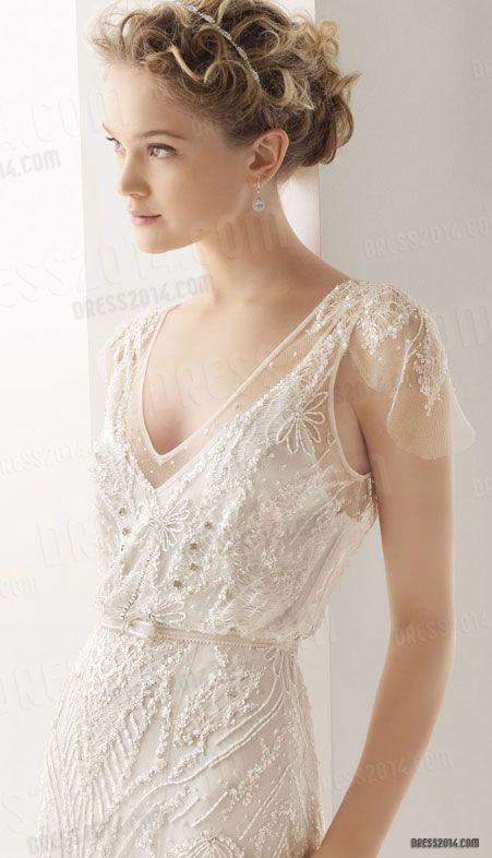 The Wedding Scoop Spotlight: Sparkly Wedding Dresses - Part 1