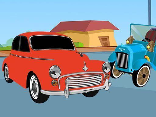 لعبة تلوين السيارات القديمة Old Timer Cars Coloring Free Online Coloring Car Games Timer