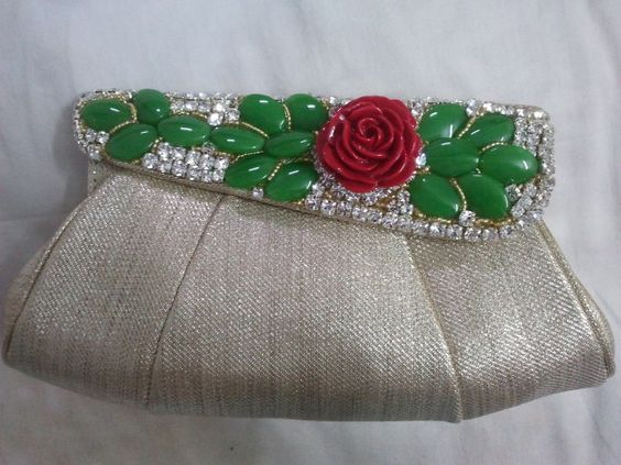 love the rose and petals.. can go with any traditional outfit.. LOVE it .. OWN IT ♥