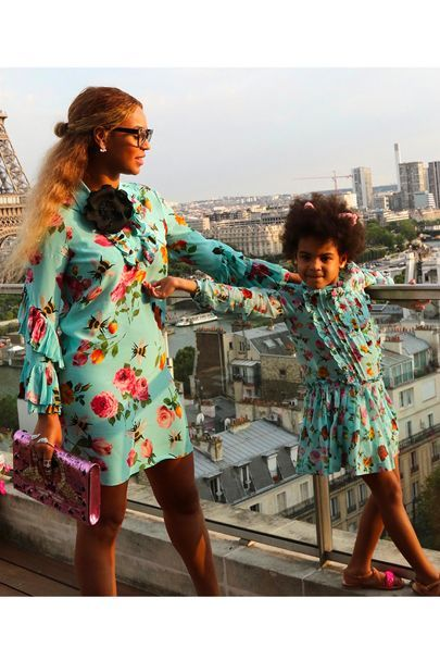 Yes, Blue Ivy Carter may be only four, but the amount of custom Gucci in her wardrobe is enough to induce envy in anyone