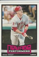 2015 Topps Heritage New Age Performers #NAP-5 Mike Trout - Los Angeles Angels