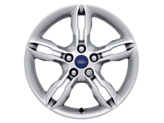 "Ford C-Max - Cerchi in lega 17"" a 5 x 2 razze, nichel lucido"
