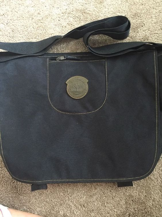 Timberland Black Messenger Bag   eBay