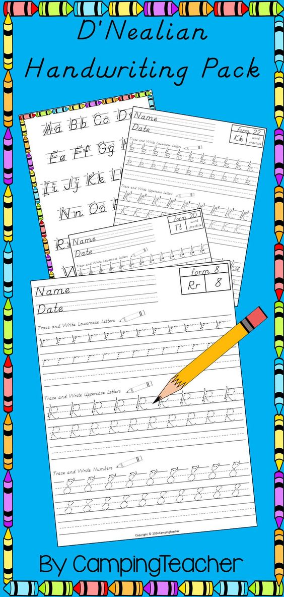 Handwriting Worksheets Teaching Handwriting And Teaching