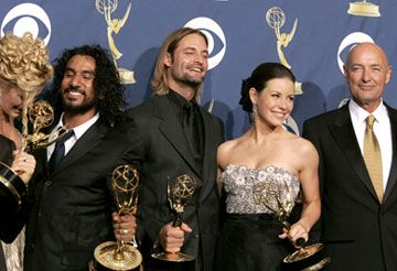 At the 2005 Emmy Awards.