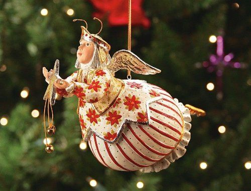 Patience Brewster Celeste Star Fairy Ornament - Krinkles Christmas Décor New 08-30573. #PatienceBrewster #Christmas #Ornament #Decor #Figurines #Gift #Giftideas #gosstudio .★ We recommend Gift Shop: http://www.zazzle.com/vintagestylestudio ★
