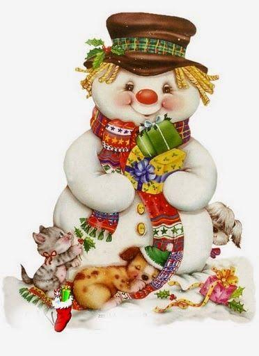 Feliz Natal: Bonecos de Neve