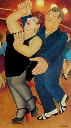 'Dirty Dancing'  Beryl Cook