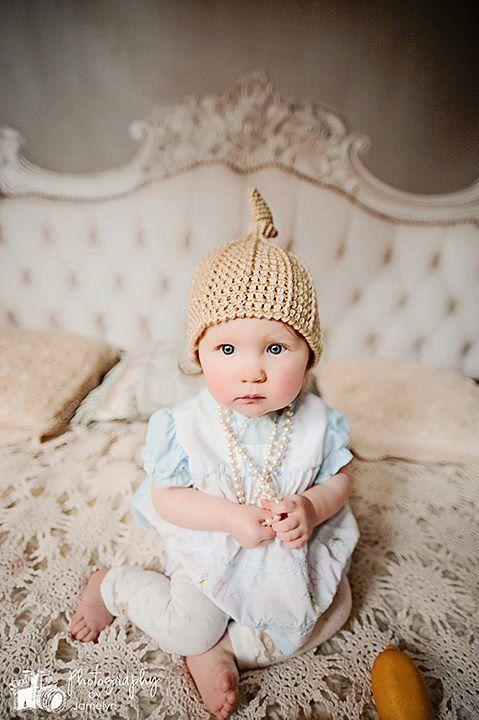Crochet Top Knot Beanie Pattern Newborn, Baby Crochet ...