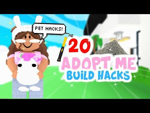 20 Easy Building Hacks Tips In Adopt Me Pets Beds Sunsetsafari Youtube In 2020 Pet Hacks Animal Room Pet Bed