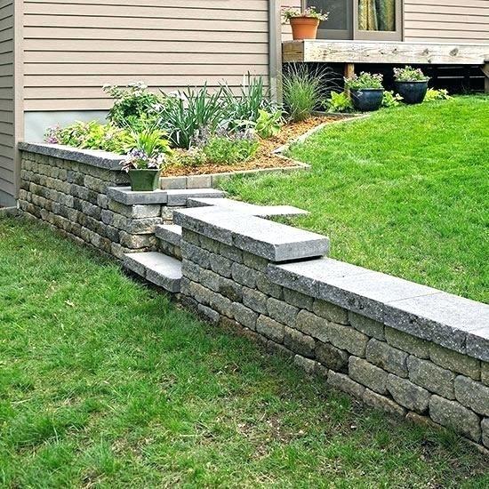 Short Retaining Wall Ideas Short Retaining Wall Ideas Retaining Wall Ideas Build A Re Building A Retaining Wall Concrete Retaining Walls Front Yard Landscaping