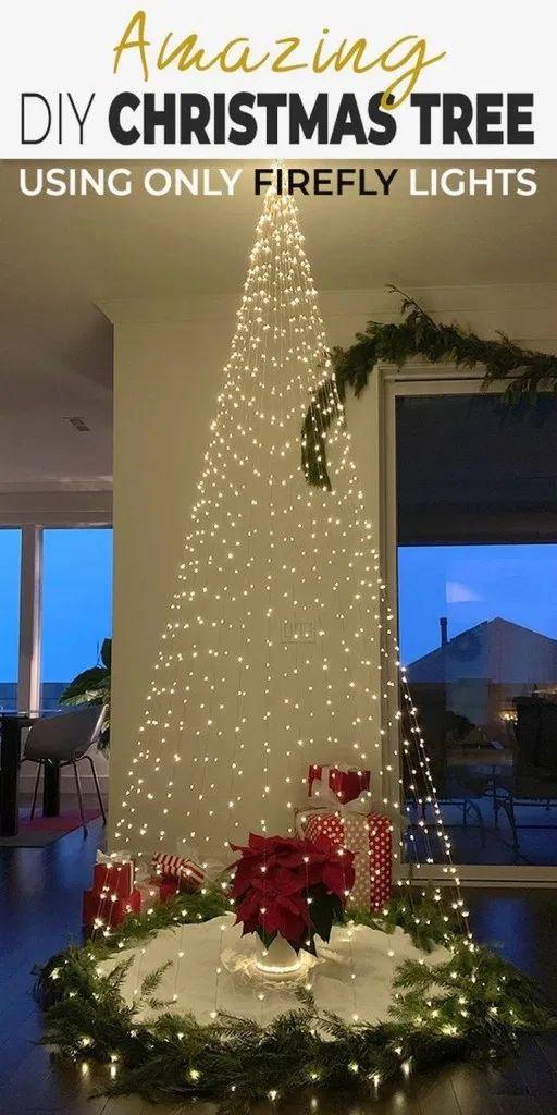 33+ Amazing Christmas Tree Light Decor Ideas #christmas #christmasideas » ideas.hasinfo.net