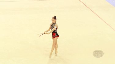 Ambre Chaboud (France), 2014 Izmir World Championships - Qualifications