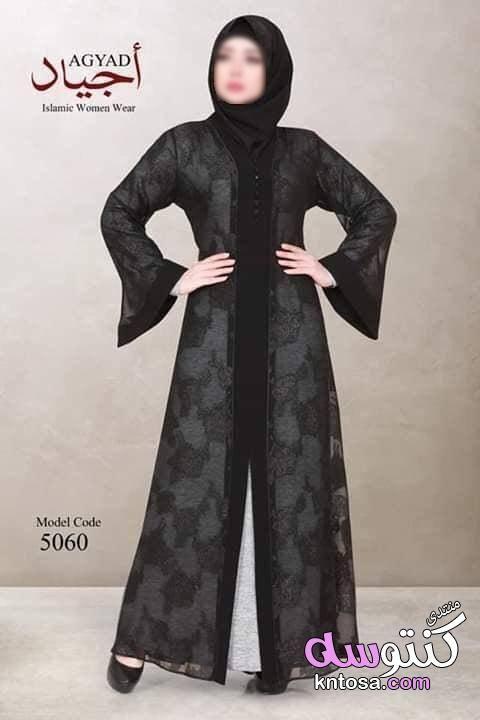 افخم عبايات سوداء للمحجبات بتصميمات خليجية جميلة عبايات سوداء للمحجبات اجدد كولكشن عبايات المحجبات Kntosa Com 04 19 154 Women Wear Fashion How To Wear