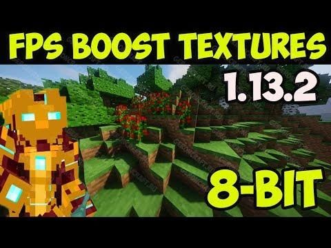 How To Get Fps Boost Texture Pack In Minecraft 1 13 2 Download Install 8 Bit Resource Pack Texture Packs Minecraft 1 Fps