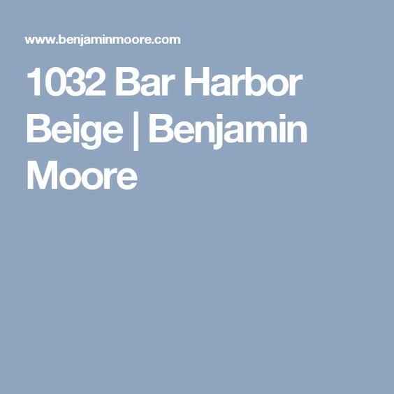 1032 Bar Harbor Beige | Benjamin Moore