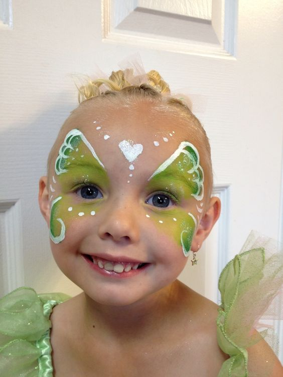 Pixie Princess - Face Painting by Jennifer Van Dyke