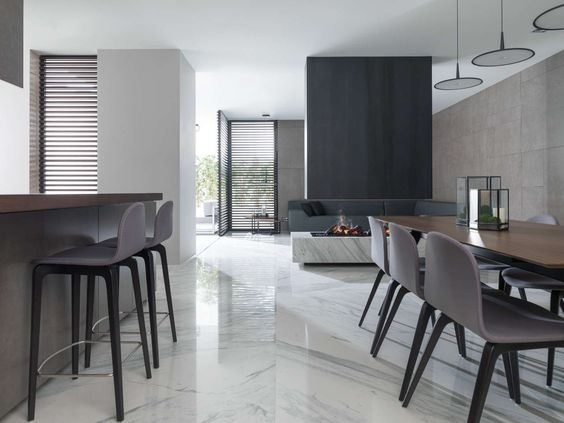 Marbles porcelain tiles and floors on pinterest for Porcelanosa catalogue carrelage