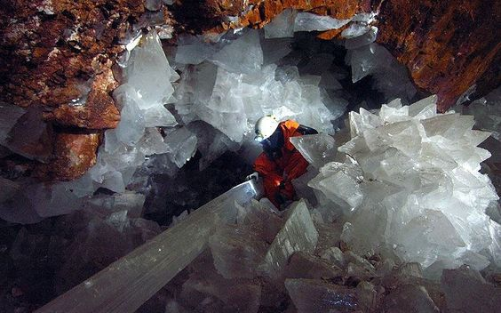 Crystal Cave Mexico share on facebook | Crystal Cave