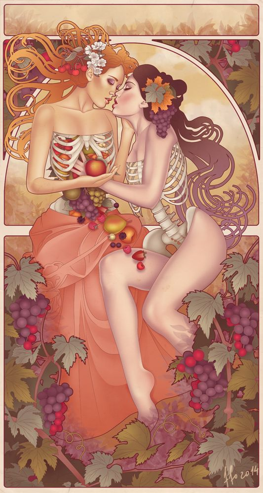 Skeleton Illustrations by FFO Art - Skullspiration.com - skull designs, art, fashion and more