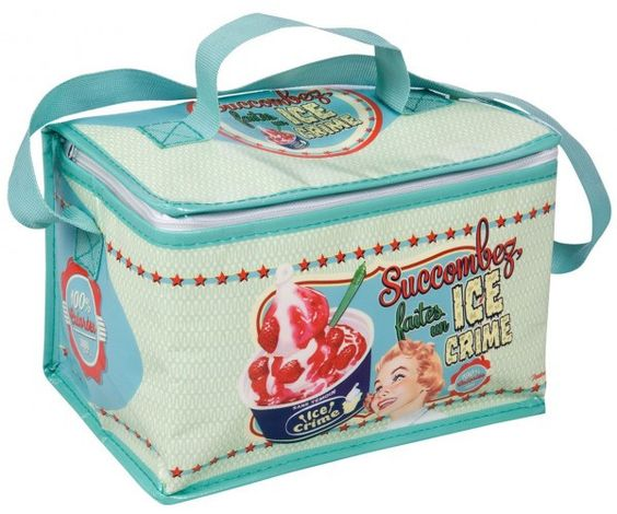Retro 'Ice Cream' Medium Cooler Bag | Natives