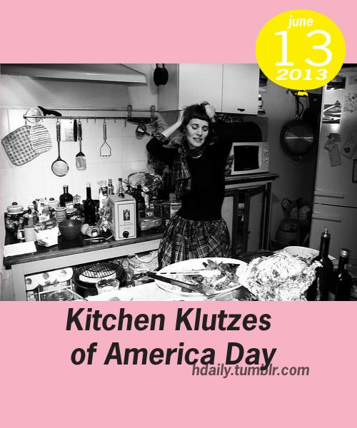 Kitchen klutzes of america day get on the calendar for E kitchen american cambodia
