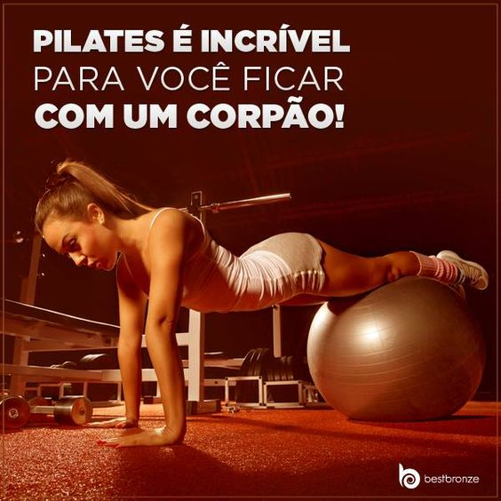 O exercício melhora a postura e é perfeito para você ficar com a barriguinha que sempre quis. Quem aí faz? #pilates