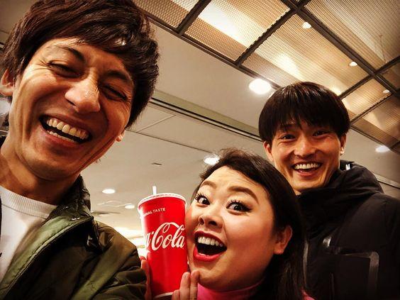渡辺直美さんと福徳秀介さんと村田さん