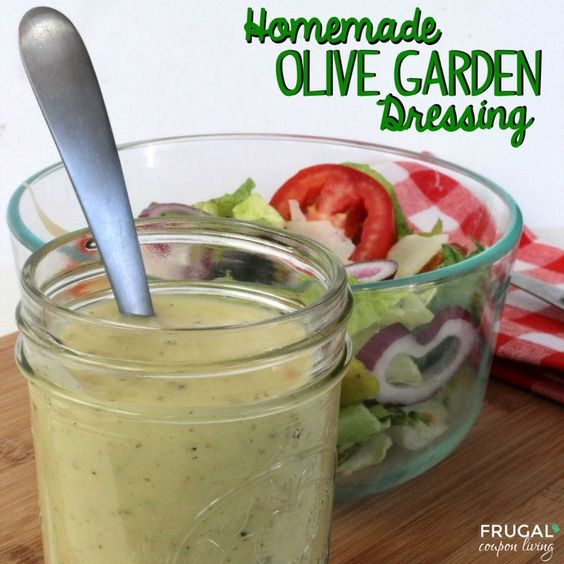 Great Copycat Olive Garden Dressing U2013 Ingredients For Your Home Salad On Frugal  Coupon Living.