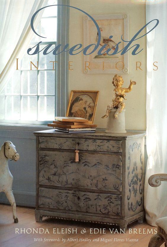 Swedish Interiors Magazine Painted Chest Painted