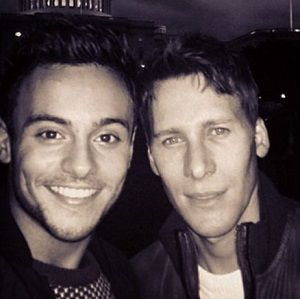 Tom Daley's boyfriend Dustin Lance Black furious after college bans him from event over sex photos