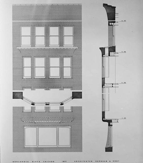 Image result for monadnock architecture skyscraper