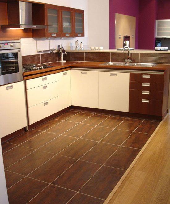 Kitchen Floor Ideas With Tile, Looks Like Wood Floor