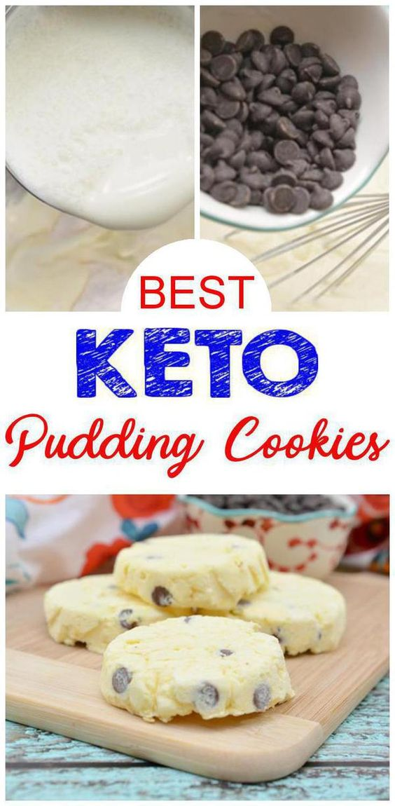 3 Ingredient keto cookies! Easy and delicious keto cookies - vanilla ice cream pudding cookies - make any flavor - vanilla, chocolate & more. Sweet treats for a ketogenic diet. Yummy low carb cookies for weight loss. Great way to start your New Years Resolution with the keto diet!