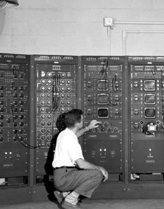 Las primeras computadoras llenaban salas enteras