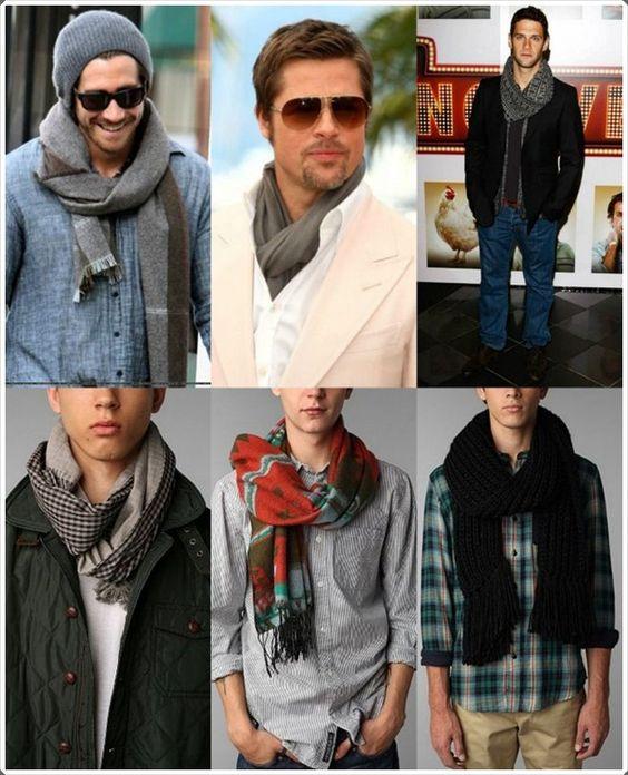 winter scarves for men