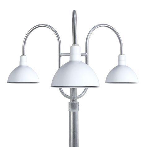 Wilcox Triple Post Mount Light Post Mount Lighting Outdoor Light Fixtures Post Lights