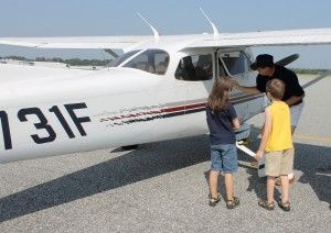 Free small aircraft flights for kids! Young Eagles
