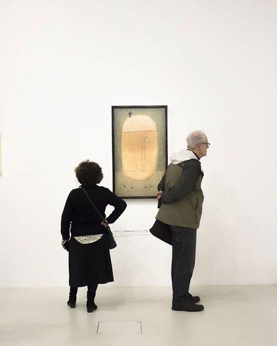Exposition Paul Klee. Emozionante essere di fronte a l'arte multiforme di un artista capace di esprimersi in cosi tanti modi differenti Ps Paul sicuramente avevi tanti ma tanti problemi :):