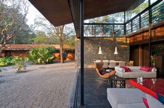 Modern Country Home Near Bombay: Brick Kiln House